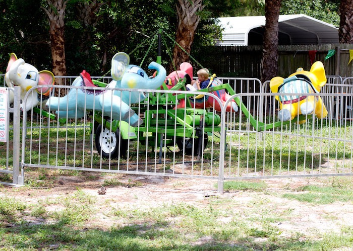 Circus Animal Carnival Ride from a Big Top Circus Birthday Party on Kara's Party Ideas | KarasPartyIdeas.com (11)