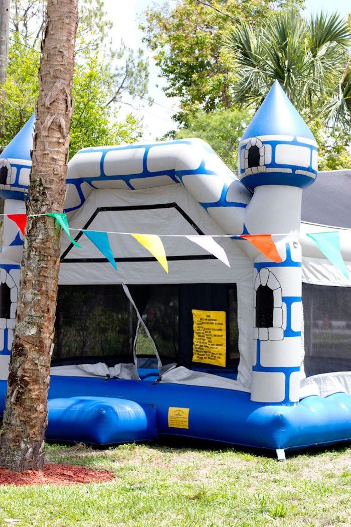 Bounce House from a Big Top Circus Birthday Party on Kara's Party Ideas | KarasPartyIdeas.com (10)