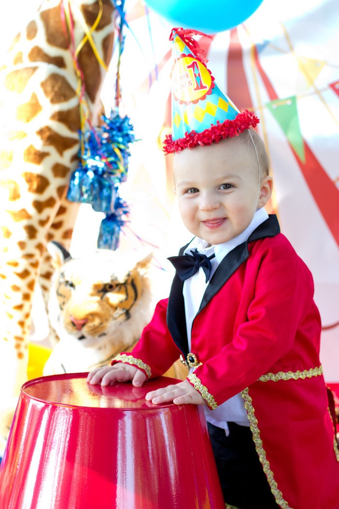 Ringmaster from a Big Top Circus Birthday Party on Kara's Party Ideas | KarasPartyIdeas.com (23)