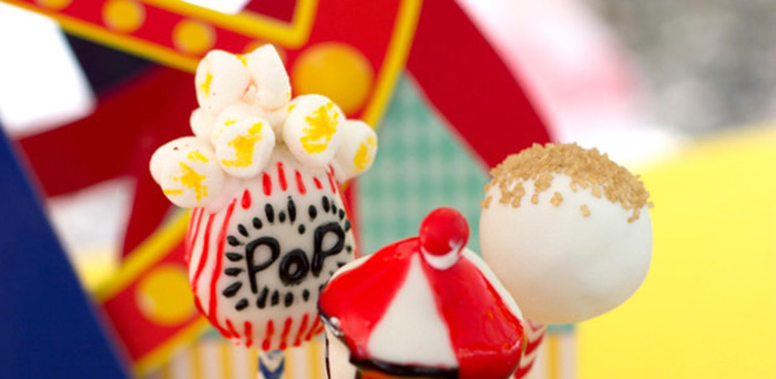 Big Top Circus Birthday Party on Kara's Party Ideas | KarasPartyIdeas.com (3)