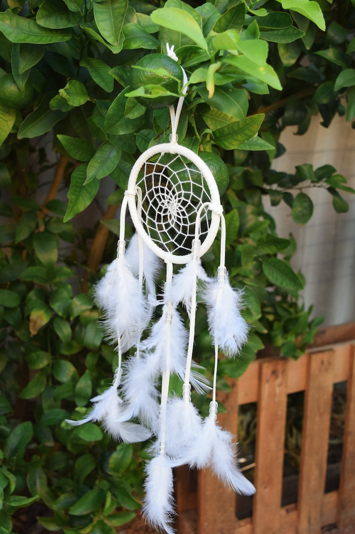 Boho Dreamcatcher from a Boho Baby Shower on Kara's Party Ideas | KarasPartyIdeas.com (18)