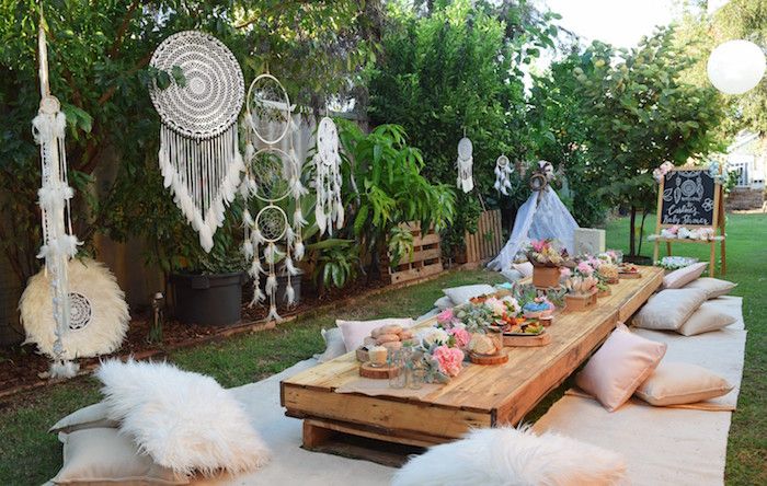 Boho Baby Shower on Kara's Party Ideas | KarasPartyIdeas.com (36)