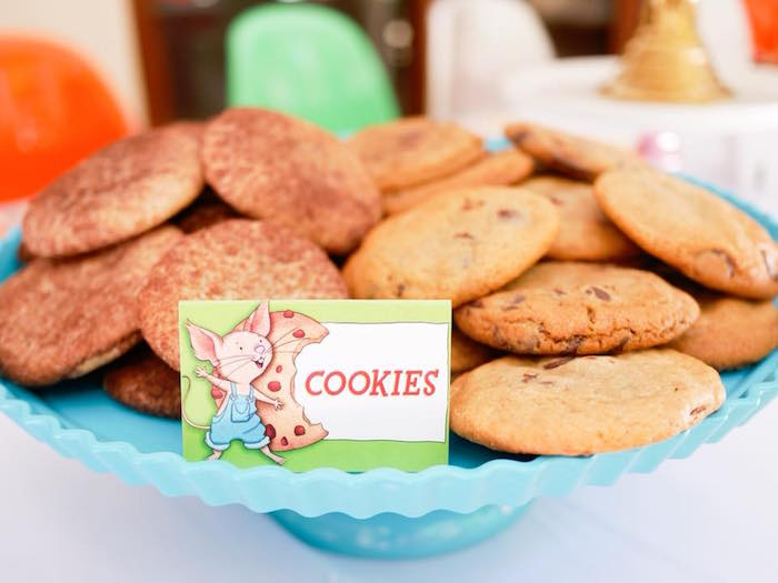 Cookies from a Bookworm Birthday Party on Kara's Party Ideas | KarasPartyIdeas.com (17)