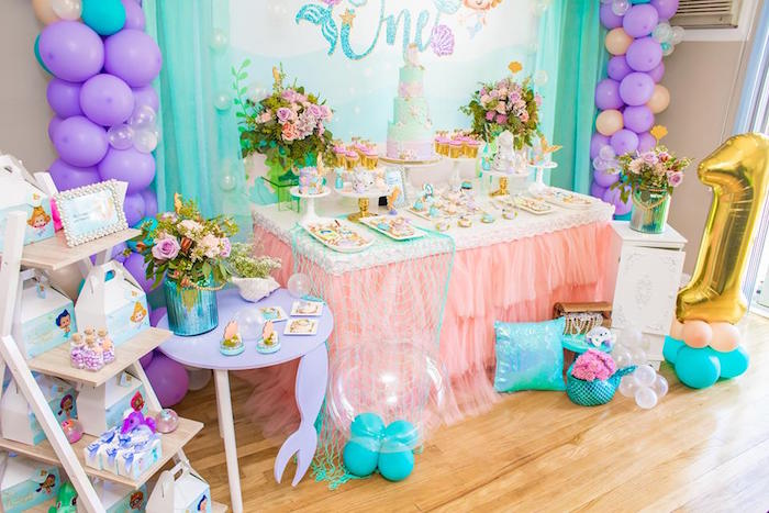 Bubble Guppies Dessert Table from a Bubble Guppies Birthday Party on Kara's Party Ideas | KarasPartyIdeas.com (21)