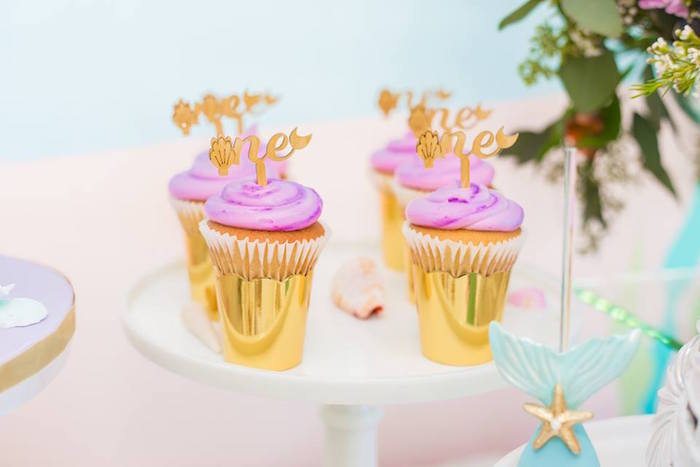 Cupcakes from a Bubble Guppies Birthday Party on Kara's Party Ideas | KarasPartyIdeas.com (30)