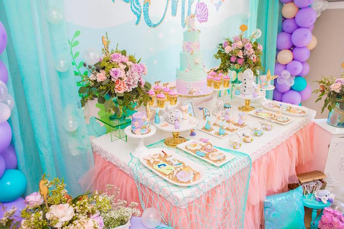 Dessert Table from a Bubble Guppies Birthday Party on Kara's Party Ideas | KarasPartyIdeas.com (8)