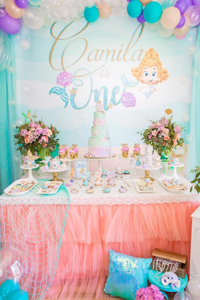 Bubble Guppies Birthday Party on Kara's Party Ideas | KarasPartyIdeas.com (25)