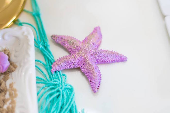 Starfish Decoration from a Bubble Guppies Birthday Party on Kara's Party Ideas | KarasPartyIdeas.com (22)