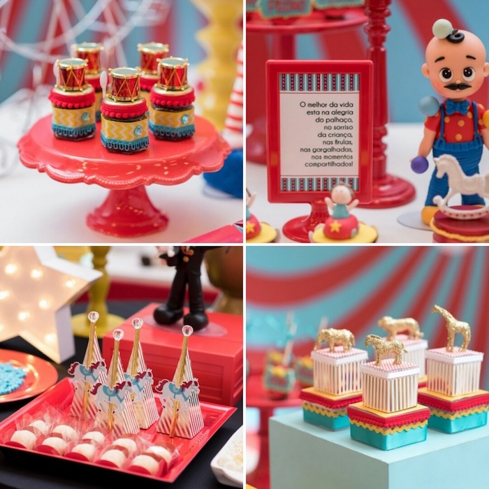 Circus-inspired Sweets + Favors from a Circus + Amusement Park Birthday Party on Kara's Party Ideas | KarasPartyIdeas.com (3)