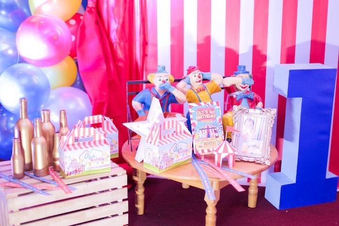 Karas Party Ideas Circus Carnival Birthday Party