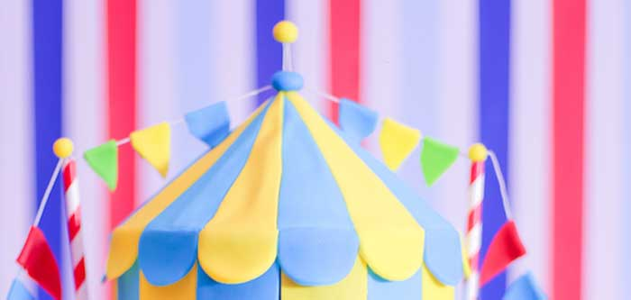 Circus + Carnival Birthday Party on Kara's Party Ideas | KarasPartyIdeas.com (1)