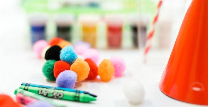Colorful Art Party on Kara's Party Ideas | KarasPartyIdeas.com (5)