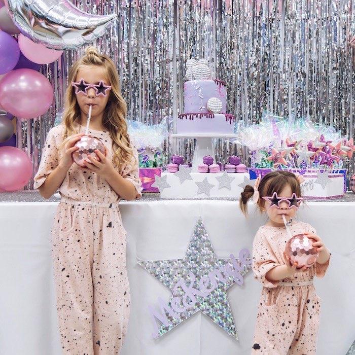 Disco Art Birthday Party on Kara's Party Ideas | KarasPartyIdeas.com (5)