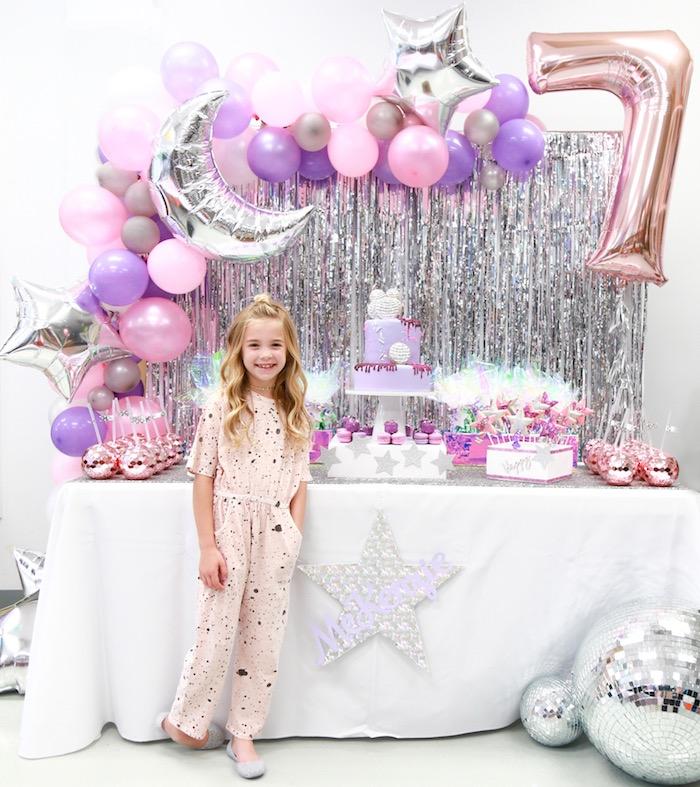 Disco Art Birthday Party on Kara's Party Ideas | KarasPartyIdeas.com (9)