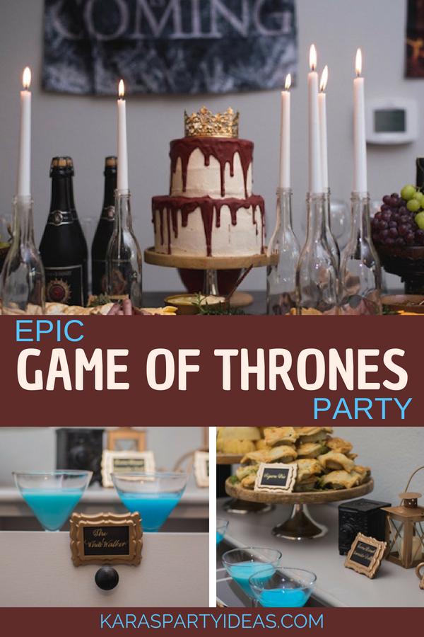 Epic Game of Thrones Party via Kara_s Party Ideas - KarasPartyIdeas.com.png