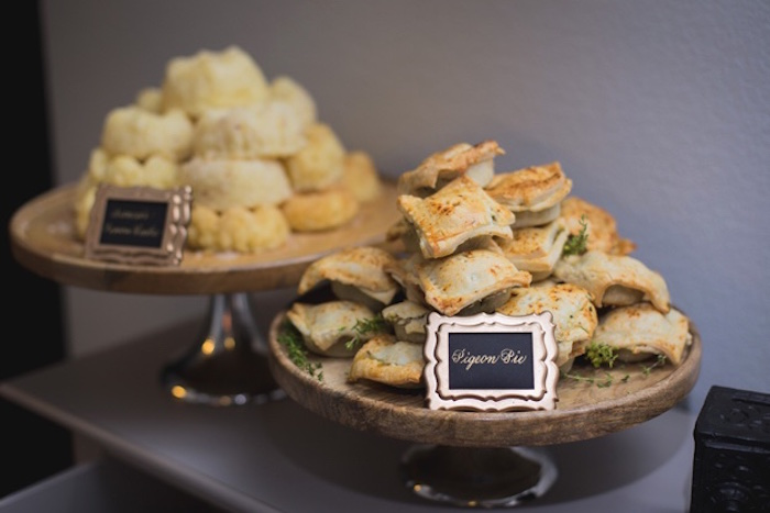 Pigeon Pies from an Epic Game of Thrones Party on Kara's Party Ideas | KarasPartyIdeas.com