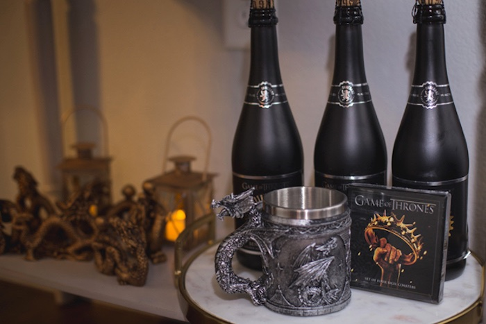 Decor from an Epic Game of Thrones Party on Kara's Party Ideas | KarasPartyIdeas.com (12)