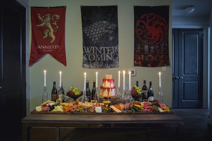 Kara S Party Ideas Epic Game Of Thrones Party Kara S
