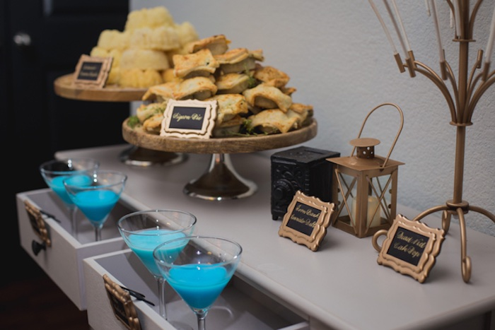 Party Table from an Epic Game of Thrones Party on Kara's Party Ideas | KarasPartyIdeas.com (9)