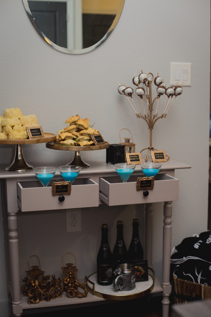 Party Table from an Epic Game of Thrones Party on Kara's Party Ideas | KarasPartyIdeas.com (8)