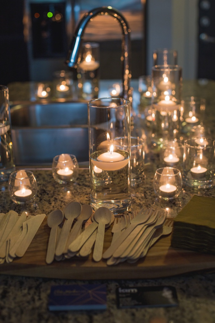 Tee Lights from an Epic Game of Thrones Party on Kara's Party Ideas | KarasPartyIdeas.com (7)