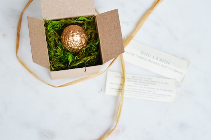 Dragon Egg Invite from an Epic Game of Thrones Party on Kara's Party Ideas | KarasPartyIdeas.com (5)