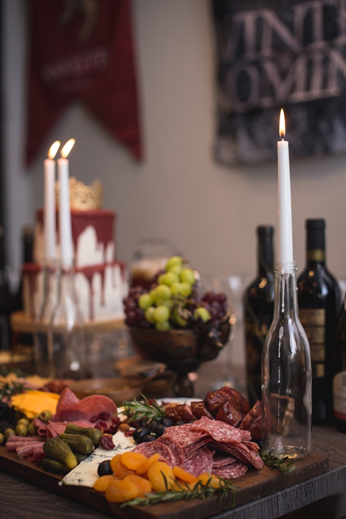 Charcuterie Board from an Epic Game of Thrones Party on Kara's Party Ideas | KarasPartyIdeas.com (22)
