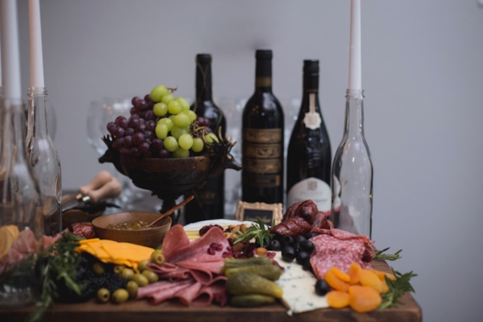 Charcuterie Plate from an Epic Game of Thrones Party on Kara's Party Ideas | KarasPartyIdeas.com (18)