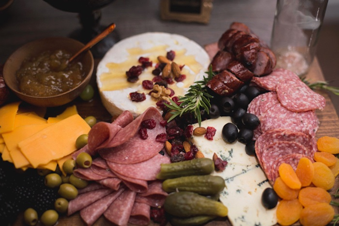 Charcuterie Platter from an Epic Game of Thrones Party on Kara's Party Ideas | KarasPartyIdeas.com (15)