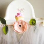 Floral First Birthday Party on Kara's Party Ideas | KarasPartyIdeas.com (1)