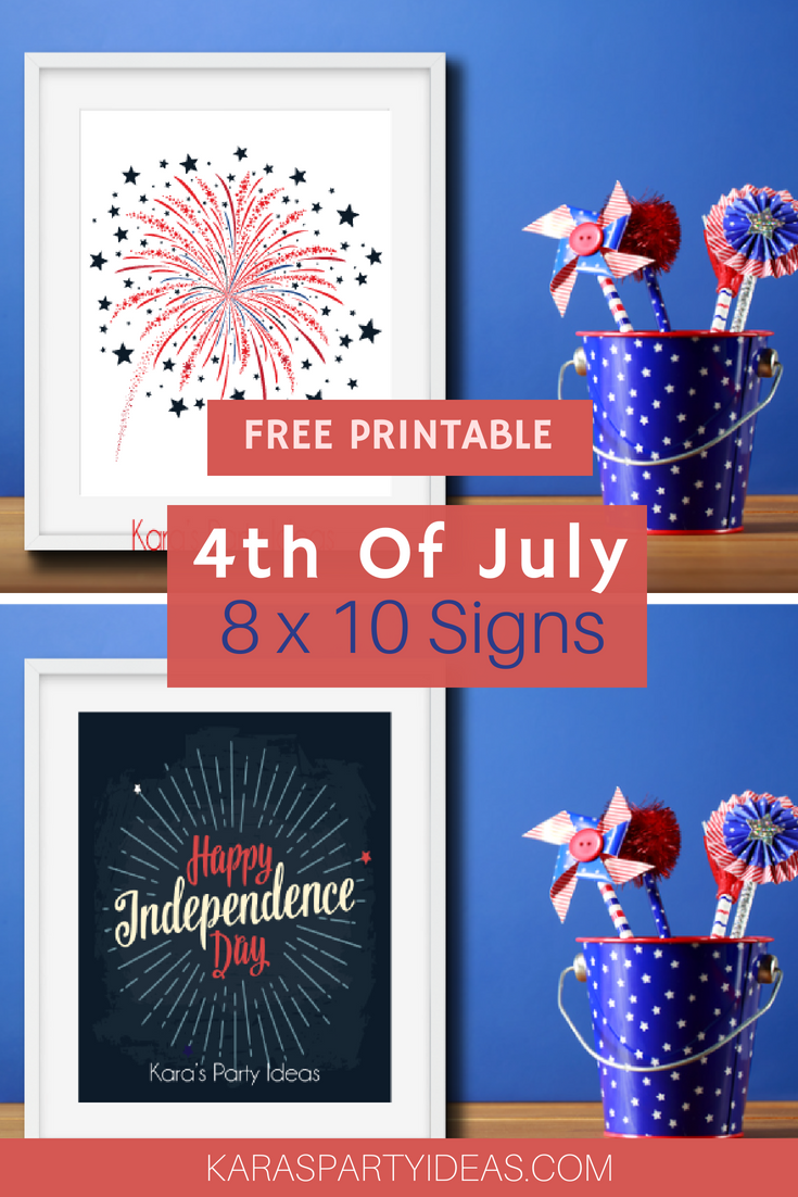 Free Printable 4th of July 8×10 Signs via Kara_s Party Ideas - KarasPartyIdeas.com.png