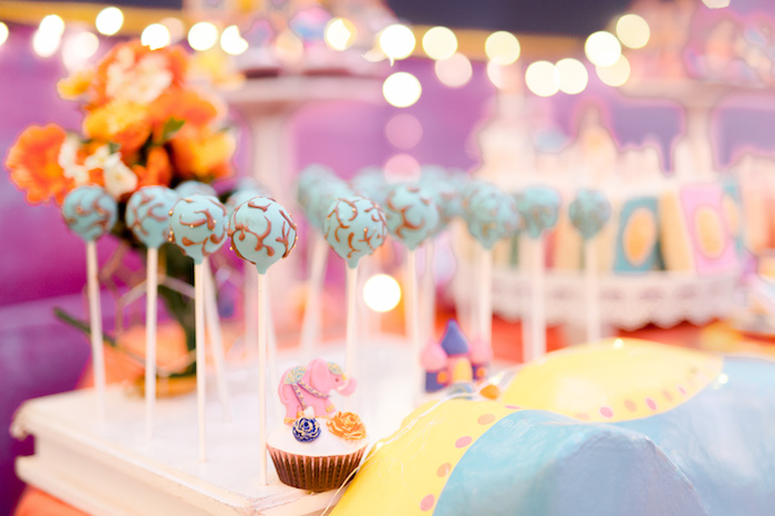 Cake Pops from a Glamorous Bollywood Birthday Party on Kara's Party Ideas | KarasPartyIdeas.com (12)