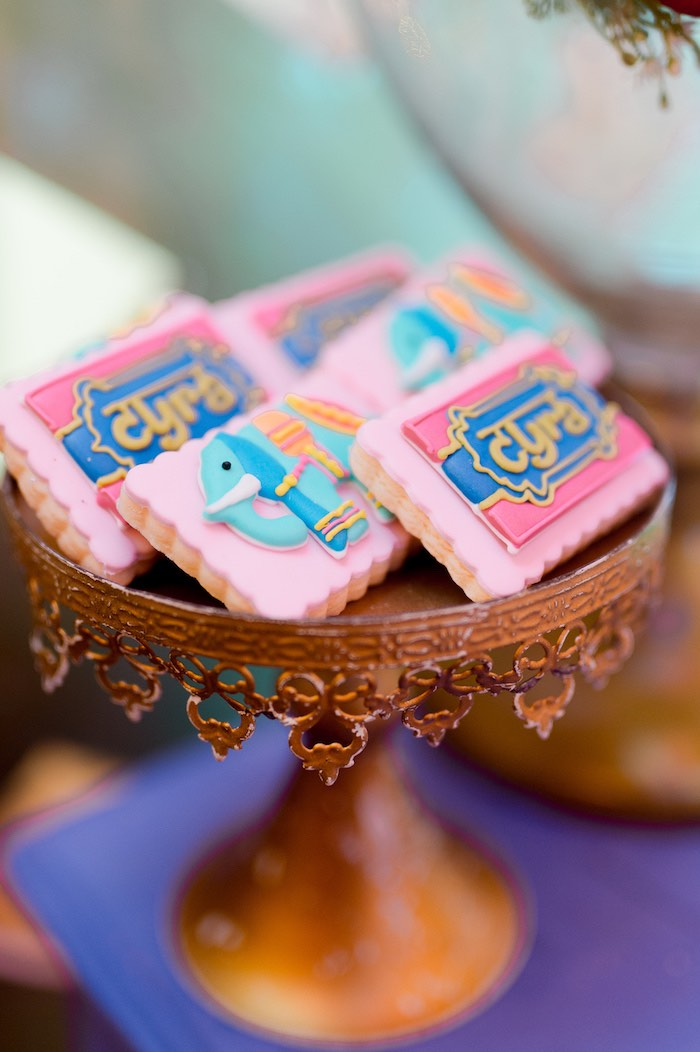 Bollywood Cookies from a Glamorous Bollywood Birthday Party on Kara's Party Ideas | KarasPartyIdeas.com (7)