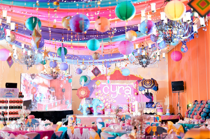 Glamorous Bollywood Birthday Party on Kara's Party Ideas | KarasPartyIdeas.com (3)