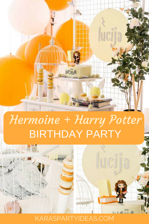 Hermoine + Harry Potter Birthday Party via Kara_s Party Ideas - KarasPartyIdeas.com.png