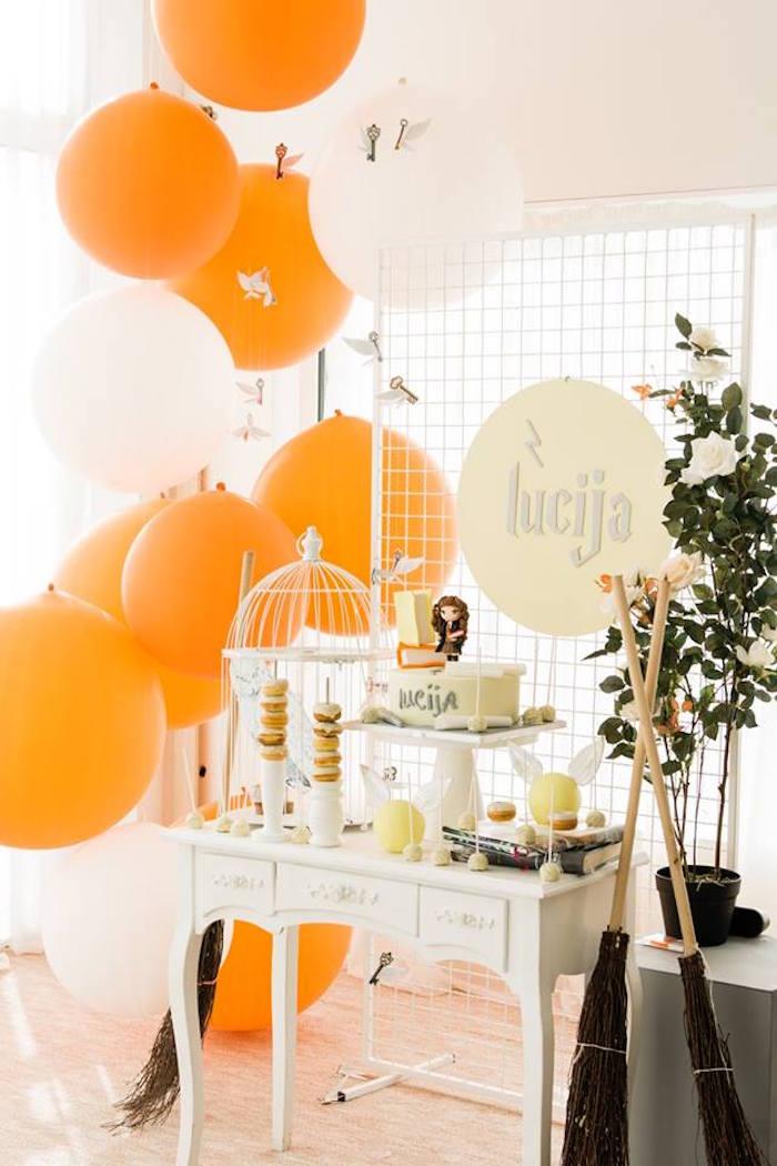 Hermoine + Harry Potter Birthday Party on Kara's Party Ideas | KarasPartyIdeas.com (14)
