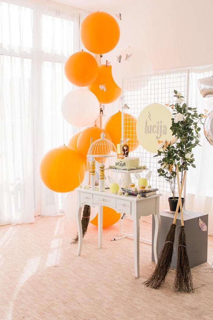 Hermoine + Harry Potter Birthday Party on Kara's Party Ideas | KarasPartyIdeas.com (7)