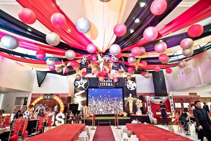 Hollywood Movie Birthday Party on Kara's Party Ideas | KarasPartyIdeas.com (15)