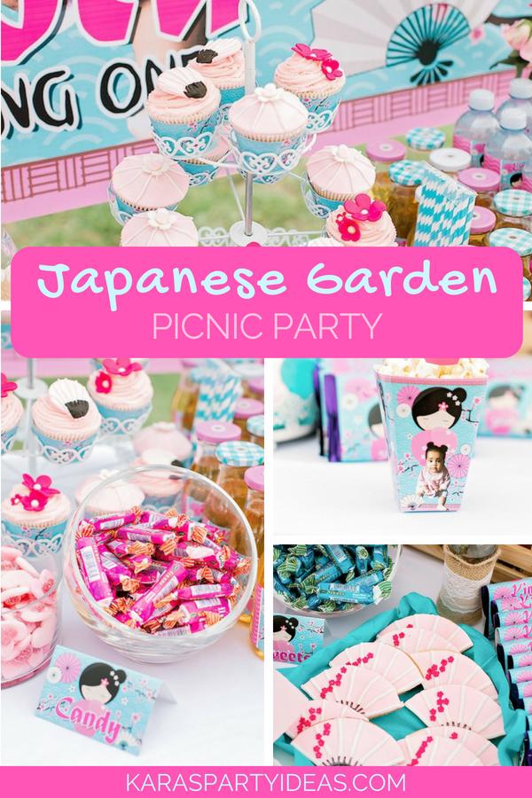 Japanese Garden Picnic Party via Kara_s Party Ideas - KarasPartyIdeas.com.png
