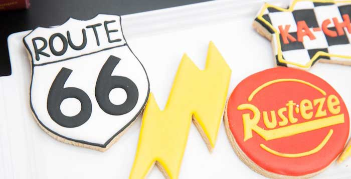 Lightning McQueen Ka-Chow Birthday Party on Kara's Party Ideas | KarasPartyIdeas.com (2)