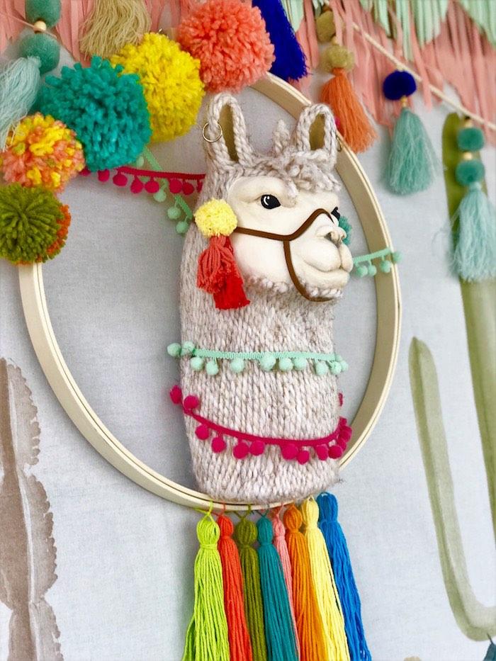 Llama Fiesta Birthday Party on Kara's Party Ideas | KarasPartyIdeas.com (16)