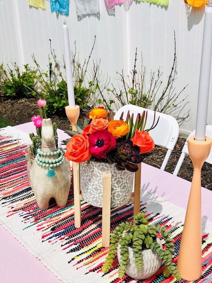 Llama Fiesta Birthday Party on Kara's Party Ideas | KarasPartyIdeas.com (15)
