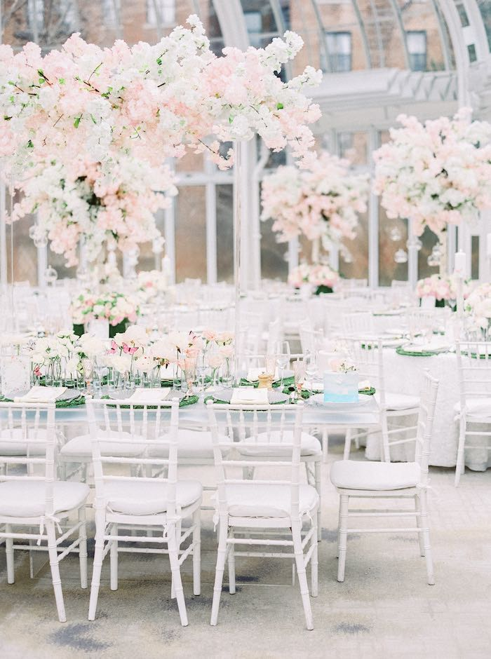 Spring Bloom Guest Tables from a Luxury Baby Shower on Kara's Party Ideas | KarasPartyIdeas.com (55)