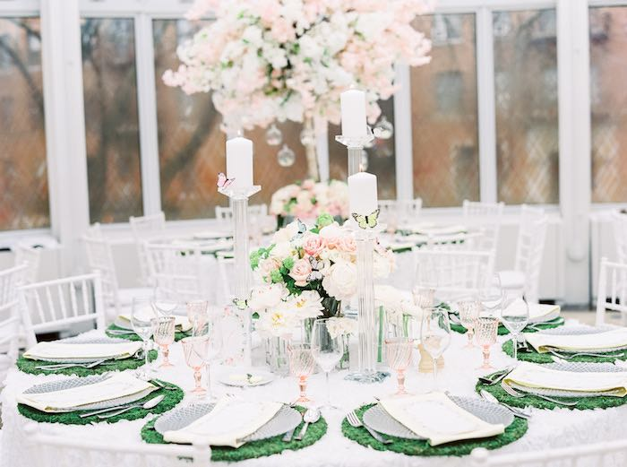 Guest Table from a Luxury Baby Shower on Kara's Party Ideas | KarasPartyIdeas.com (54)