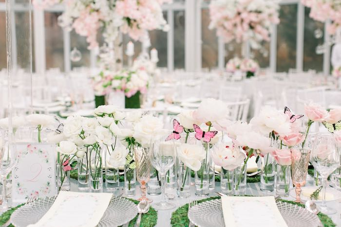 Guest Table from a Luxury Baby Shower on Kara's Party Ideas | KarasPartyIdeas.com (53)