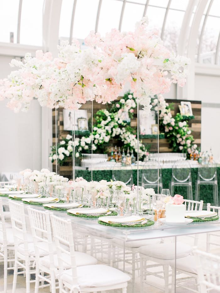 Guest Table from a Luxury Baby Shower on Kara's Party Ideas | KarasPartyIdeas.com (50)