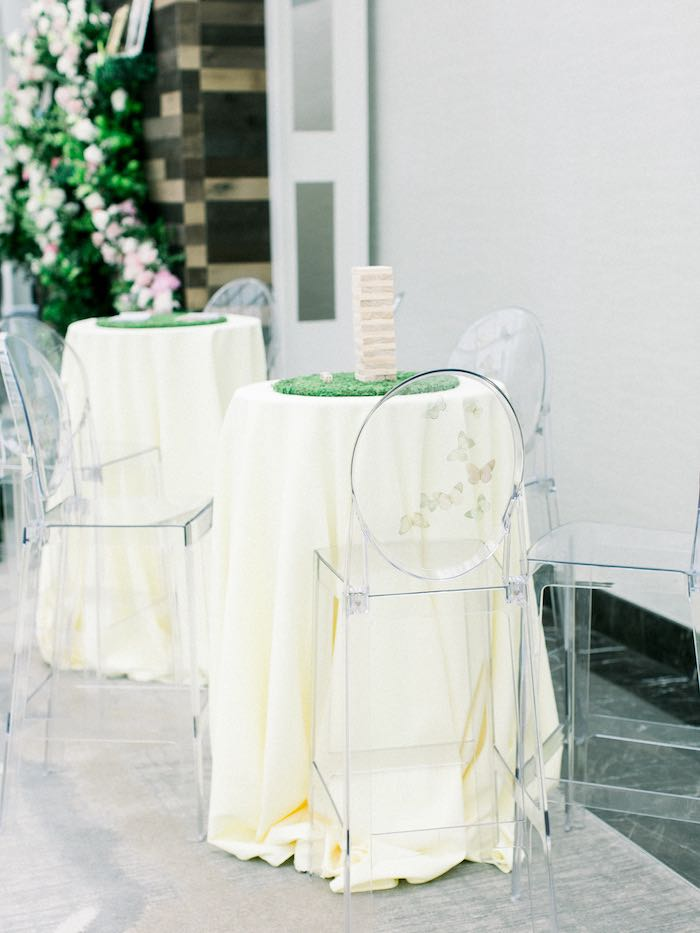 Game Tables from a Luxury Baby Shower on Kara's Party Ideas | KarasPartyIdeas.com (47)