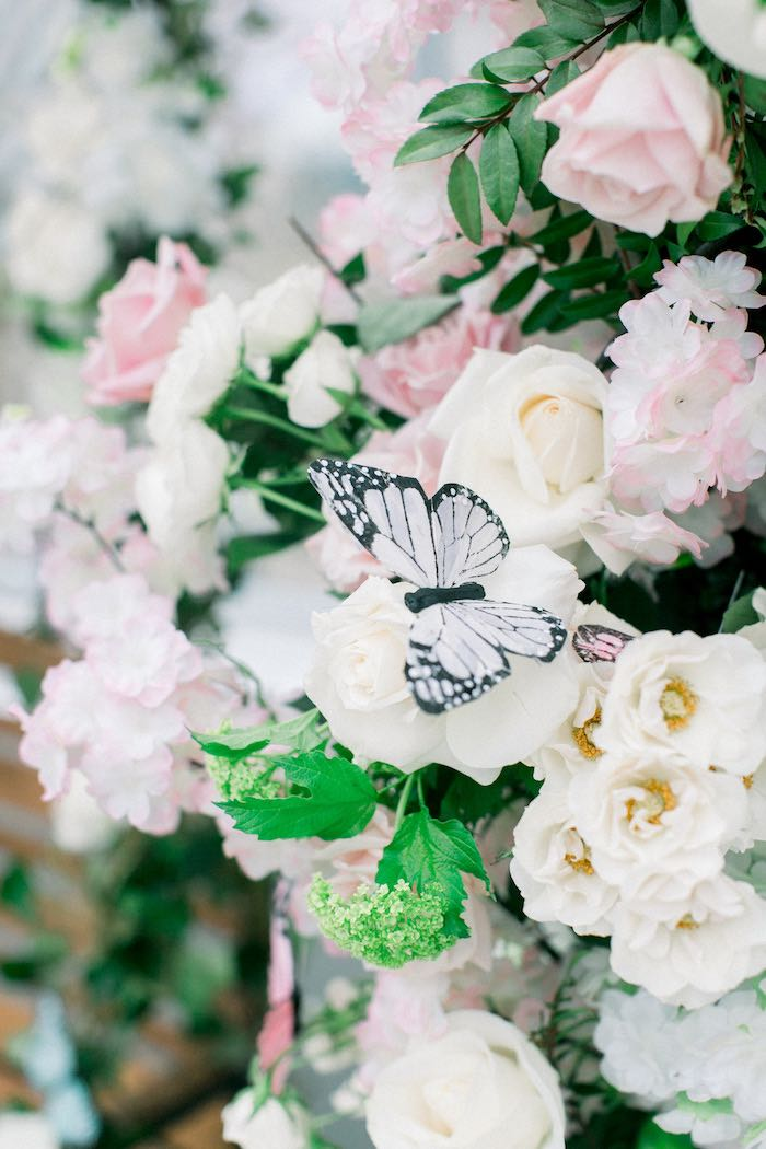 Butterfly Blooms from a Luxury Baby Shower on Kara's Party Ideas | KarasPartyIdeas.com (31)