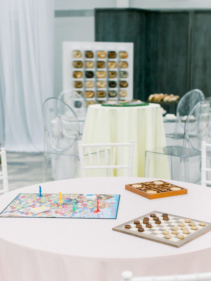 Game Table from a Luxury Baby Shower on Kara's Party Ideas | KarasPartyIdeas.com (28)