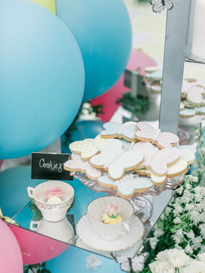 Sweet Table from a Luxury Baby Shower on Kara's Party Ideas   KarasPartyIdeas.com (21)